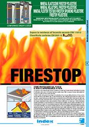 firestop guaina resistente all'incendio